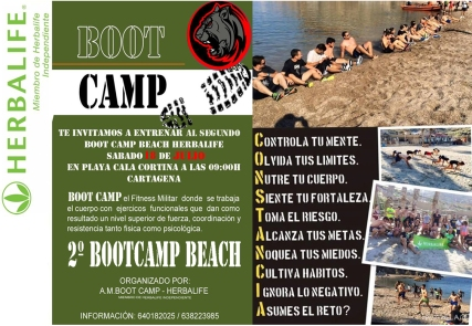 bootcamp beach
